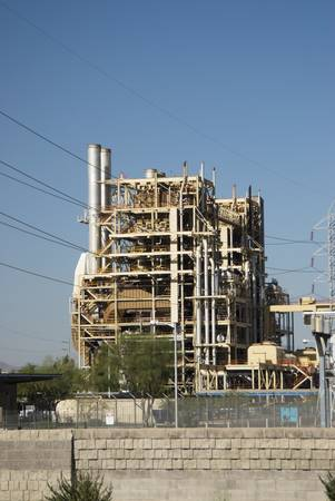 ocotillo: Ocotillo Power Plant in Phoenix, Arizona. Fall 2007