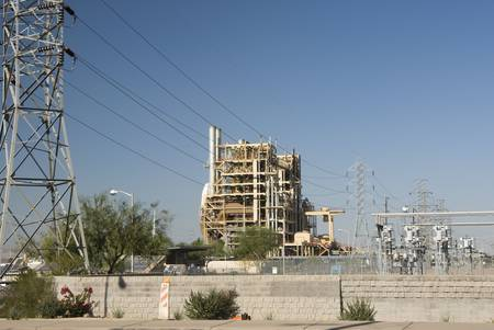 ocotillo: Ocotillo Power Plant in Phoenix, Arizona, Fall 2007