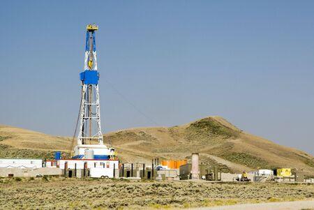 torres petroleras: nuevas perforaciones de petr�leo y gas actividad en Wyoming