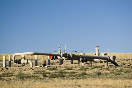 pipeline construction for new oil and gas drilling activity in Wyoming