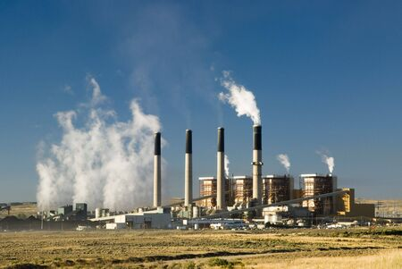 a coal fired  electric power plant in Wyoming