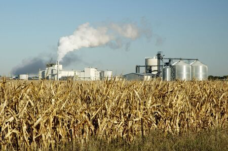south dakota: Un impianto per la produzione di etanolo in Sud Dakota.
