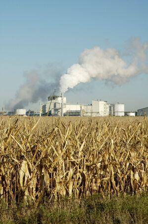 Una planta de producción de etanol en Dakota del Sur. Foto de archivo - 4992683