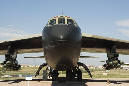 a Boeing B-52D Stock Photo - 5046975