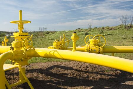 a pipeline for the distribution of natural gas