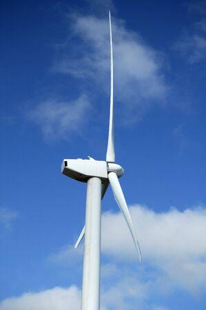 Wind turbines near White Deer, Texas. photo