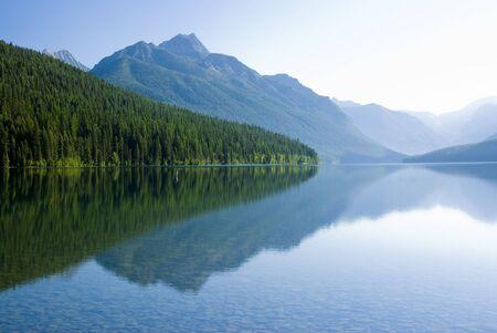 bowman: Bowman Lake in Glacier National Park