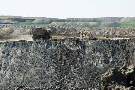 coal mining operations in Wyoming photo