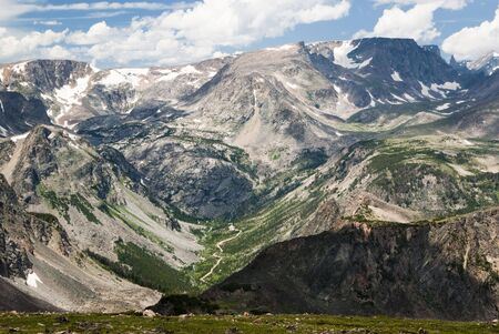 View of the Bears Tooth from the Beartooth Highway.