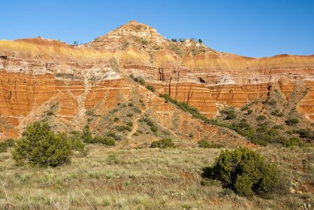 Capitol Peak in Palo Duro Canyon State Park in Texas.