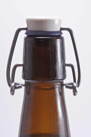 Swing top beer bottle photo