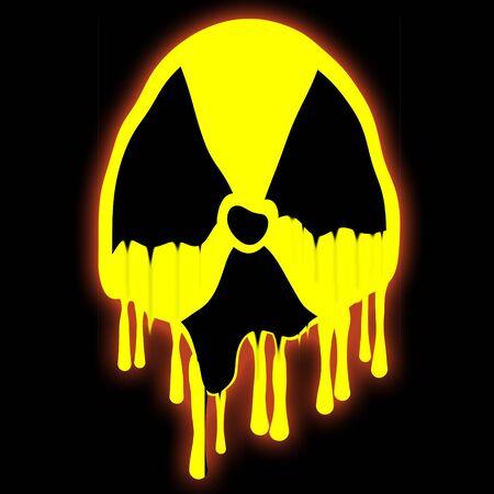 radioactive sign: Radioactive Sign