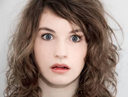 Surprised girl Stock Photo - 9543224