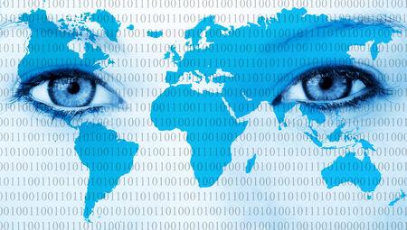 World eyes Stok Fotoğraf