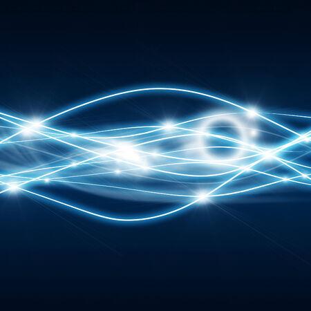 Energy waves Standard-Bild