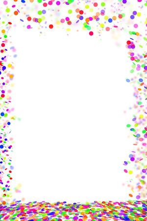 Confetti sfondo Archivio Fotografico - 33217670