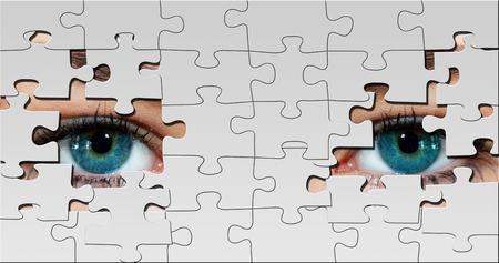 Puzzle eyes