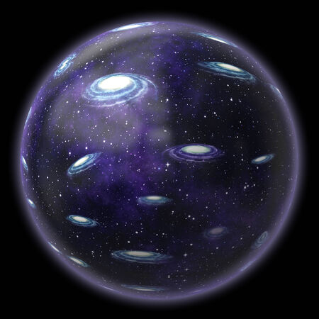 big bang theory: Universe in a bubble