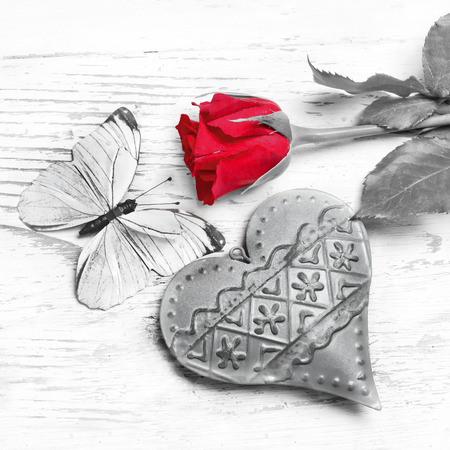 Never ending love Banque d'images