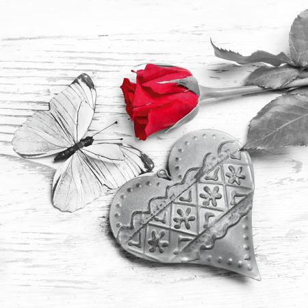 Never ending love Standard-Bild
