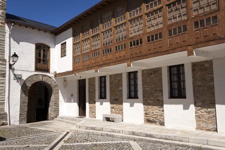outbuilding: La Anunciada monastery outbuilding in Villafranca del Bierzo, Castile and Leon, Spain