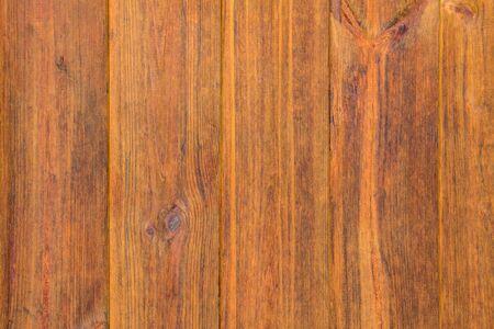 Holz Textur. Dunkle Holzarten. Hintergrund von vertikalen Brettern. Walnußholz. Grunge-Stil.
