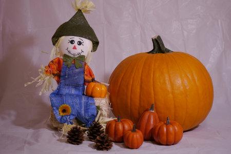 Dolls and Autumn Harvest Festival Banque d'images