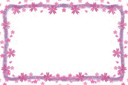 Sakura's Message Card Foto de archivo