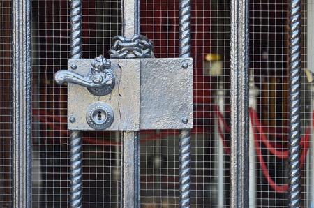 Beautiful ancient door lock Stock Photo - 10523967
