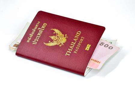 Thai passport front side Stock Photo - 11039677