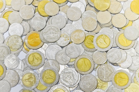 Coins background  photo
