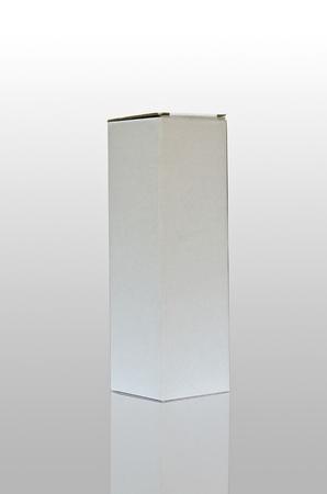 white box isolated  photo
