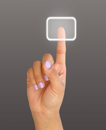 arm press the button, window  photo