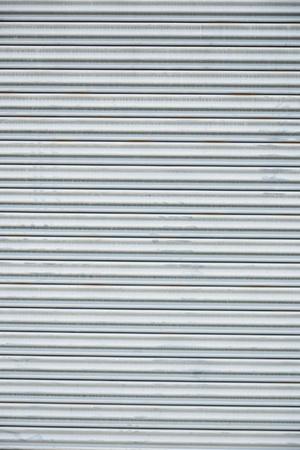 pattern of rustic zinc fence  Stock Photo