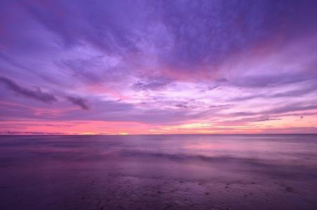coucher de soleil cr?puscule sur la mer d'Andaman, Tha?lande