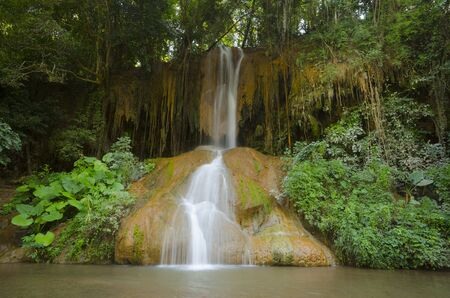 eravan: Beautiful waterfalls in National Park Phu Sang  in northern Thailand