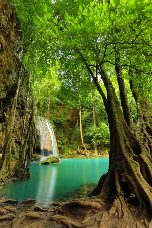 Erawan Waterfall photo