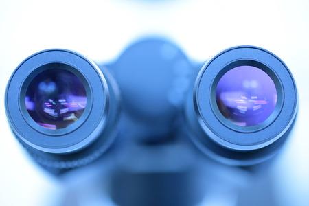 eyepiece: Microscope eyepiece