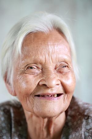 Senior asian woman photo