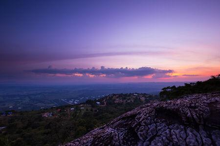 ozone layer: Dramatic Sunset Sky