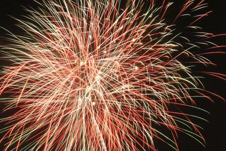 panoply: Spidery fireworks display