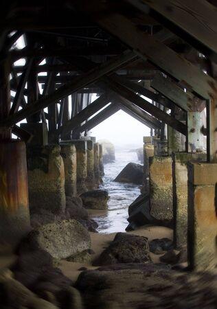 Gloomy Pier photo