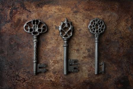 Klucze: Szkielet kluczy Zdjęcie Seryjne