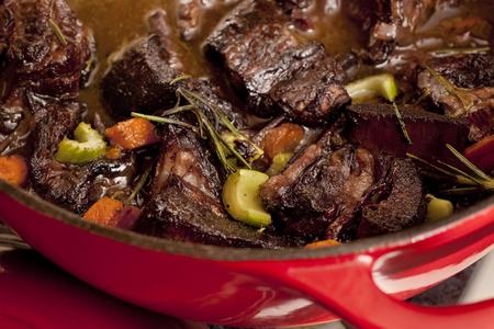 Homemade Beef Stew Stock fotó