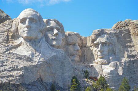 mount rushmore: Mount Rushmore in the Black Hills of South Dakota Editorial