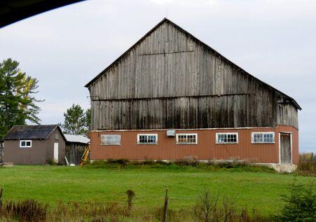 old barn in use
