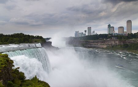 Niagara waterfalls,Ontario, Canada Stock Photo