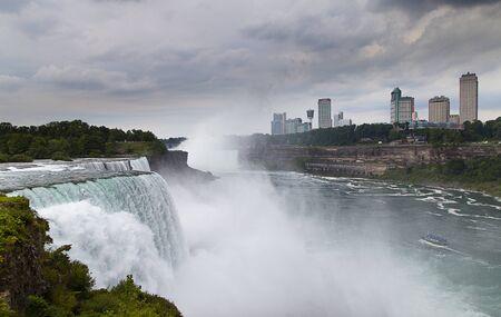 Niagara waterfalls,Ontario, Canada Stock Photo