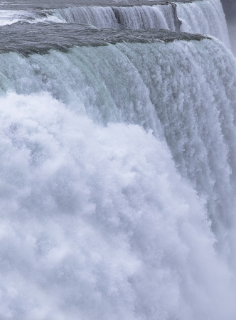 Chutes du Niagara, Horseshoe Falls Stock Photo