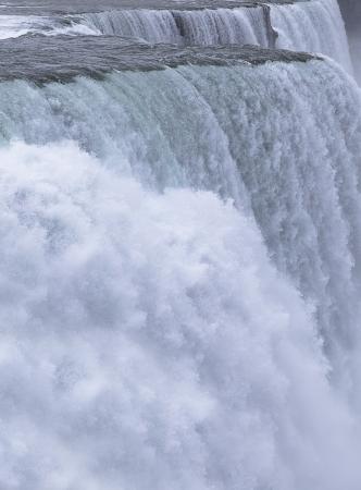 Chutes du Niagara, Horseshoe Falls Stock Photo